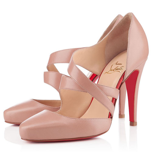Christian Louboutin Sandalen Citizen 100mm Nude