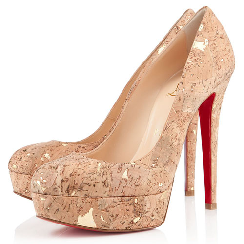 Christian Louboutin Bianca 140mm Pumpen Bronze