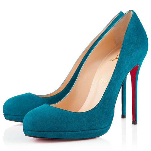 Christian Louboutin Filo 120mm Peacock Pumps