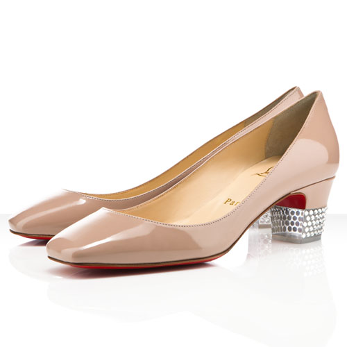 Christian Louboutin Gloria 40mm Nude Pumps