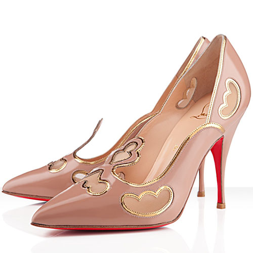 Christian Louboutin 120mm Nude Pumps Indies