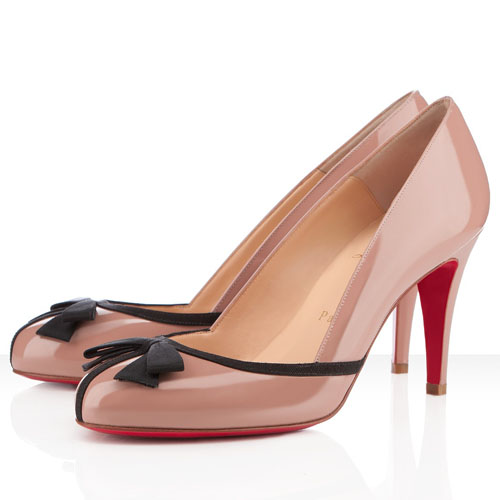 Christian Louboutin 100mm Nude Pumps Lavalli
