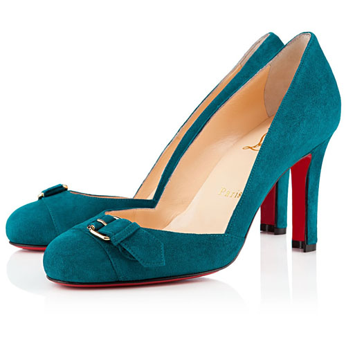 Christian Louboutin Pumps Lilibelt 100mm Peacock