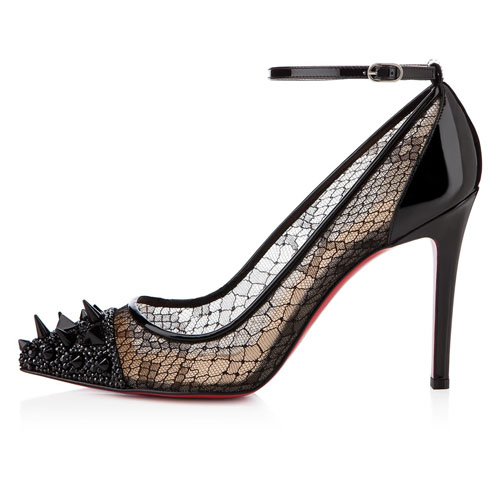 Christian Louboutin Picks und Co 100mm schwarze Pumps