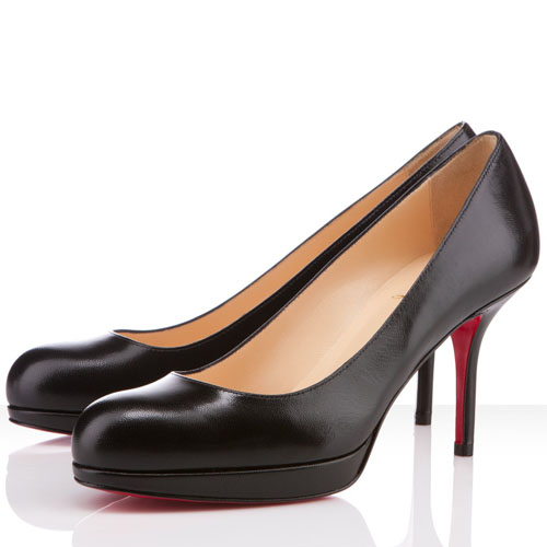 Christian Louboutin Pumps schwarz 80mm Prorata
