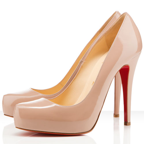 Christian Louboutin Rolando 120mm Nude Pumps
