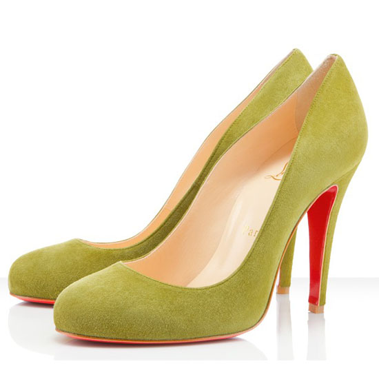 Christian Louboutin Ron Ron 100mm Pumpen Gelb