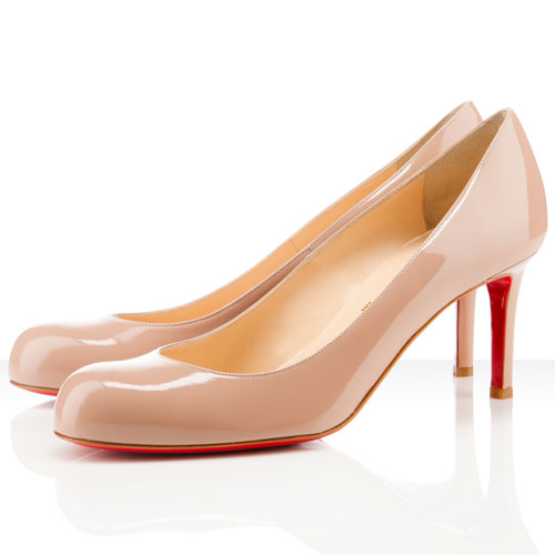 Christian Louboutin Einfache 80mm Nude Pumps