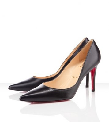 Christian Louboutin Pumps schwarz New 80mm Decoltissimo